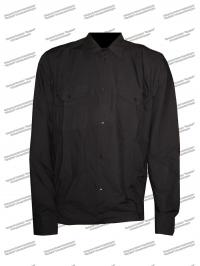 Рубашка форменная, длинный рукав, черная