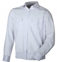 Рубашка детская форменная белая (длинный рукав)