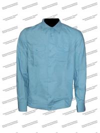 Рубашка мужская форменная МЧС длинный рукав