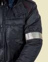 """Повязка со светоотражающей лентой - Куртка """"Полиция"""" Всесезонная Удлинённая"""