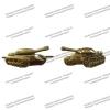 Эмблема петличная металл Танковые Войска золото