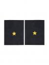 Фальшпогоны Полиции темно-синие, Младший лейтенант
