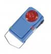 Фонарик сигнальный 3-х цветный (металлический корпус)