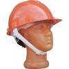 Каска защитная с храповым механизмом, оранжевая