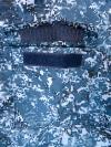 """Нагрудный карман - Костюм для ФСИН """"Лидер"""", Синяя цифра"""