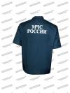 Костюм летний «МЧС», короткий рукав, ткань Рип-стоп
