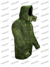 Куртка (бушлат) полевая, зимняя, зеленая цифра