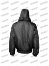 Куртка зимняя «Омега» чёрная 2 слоя синтепона