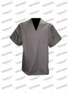 Костюм хирургический, темно-серый