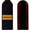 Погоны ФСИН тёмно-синие, Младший сержант, золотой галун