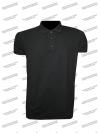 """Рубашка """"Поло"""", чёрная"""