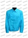 Рубашка МЧС длинный рукав бирюза