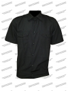 Рубашка форменная, короткий рукав, черная