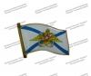 Флаг на пимсе ВМФ России с орлом