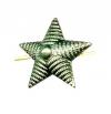 Звезда на погоны мет. 13 мм (рифленая) олива